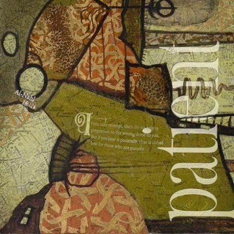Arabische Schilderij Patient