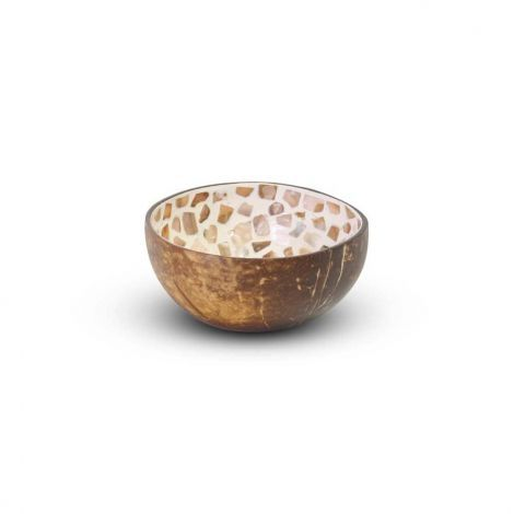 Coconut Bowl Mozaik Ø 13 x 7cm