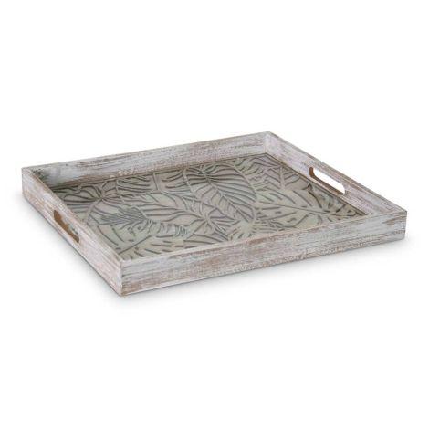 Dienblad Deco Hout Rechthoek 40 x 45cm