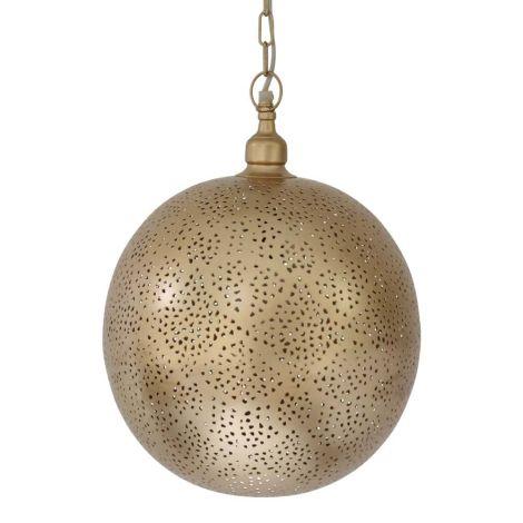 Marokkaanse Hanglamp Goud Almedina Ø 30 x 40cm