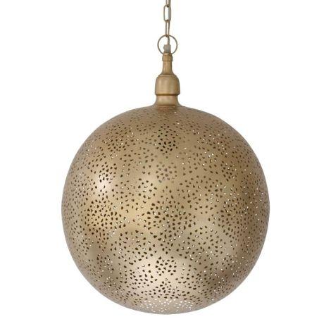 Marokkaanse Hanglamp Goud Almedina Ø 40 x 50cm