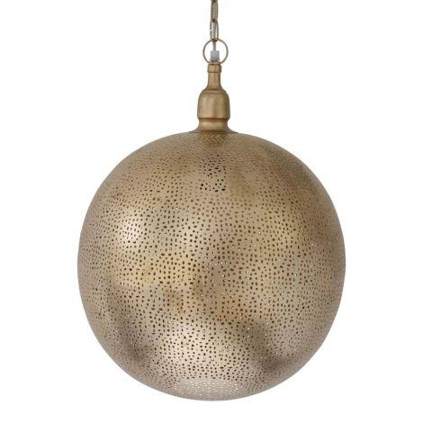 Marokkaanse Hanglamp Goud Elif Ø 40 x 50cm