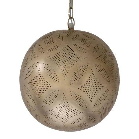 Marokkaanse Hanglamp Goud Irina Ø 30 x 33cm