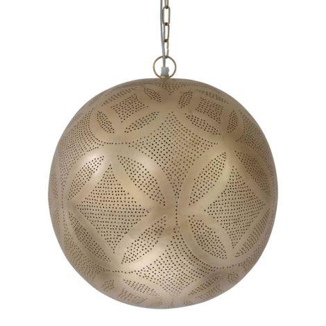 Marokkaanse Hanglamp Goud Irina Ø 40 x 44cm