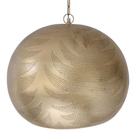 Marokkaanse Hanglamp Goud Nadia Ø 46 x 38cm