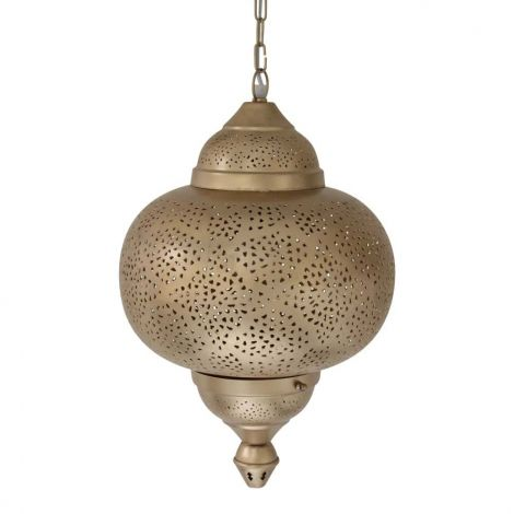 Marokkaanse Hanglamp Goud Natalya Ø 33 x 54cm