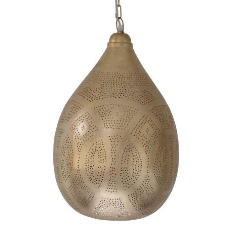 Marokkaanse Hanglamp Goud Neorah Ø 30 x 46cm