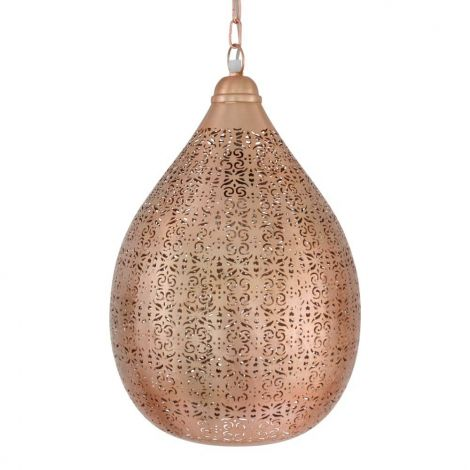 Marokkaanse Hanglamp Koper Asrel Ø 29 x 45 cm
