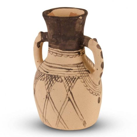 Marokkaanse Karaf Berber Kastanjebruin Ø 16 x 26cm