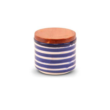 Marokkaanse kruidenpot Blauw Zebra
