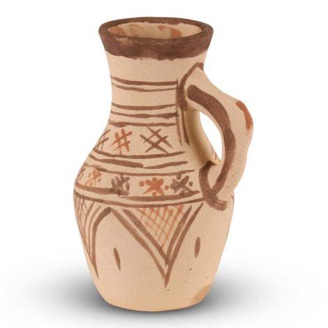 Marokkaanse Kruik Berber Bruin Ø 15 x 24cm