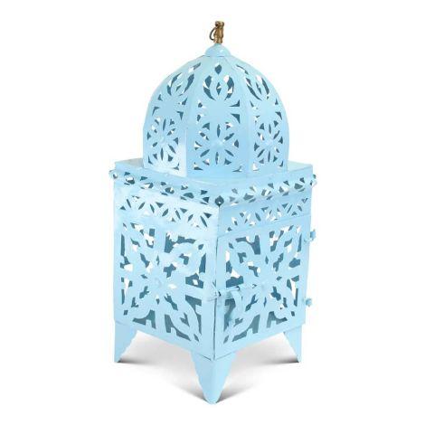 Marokkaanse Lantaarn Blauw Large Nimra