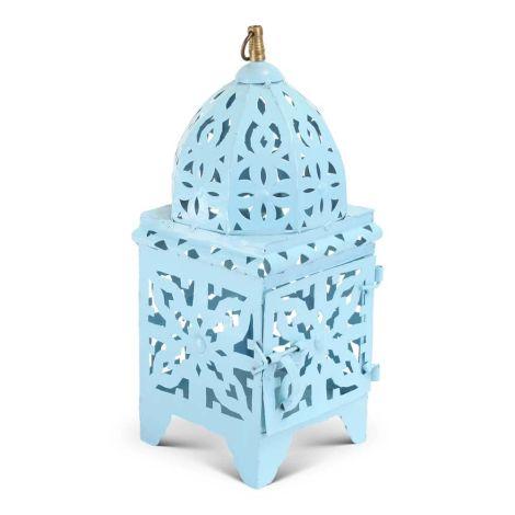 Marokkaanse Lantaarn Blauw Small Nimra