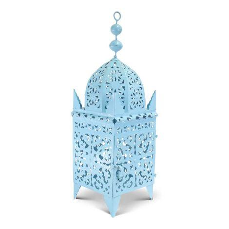 Marokkaanse Lantaarn Blauw XXL Arub