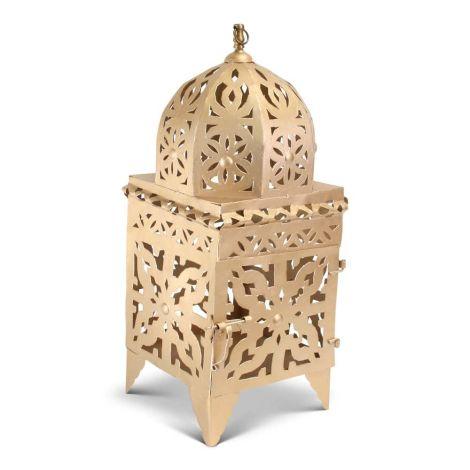 Marokkaanse Lantaarn Goud Large Nimra
