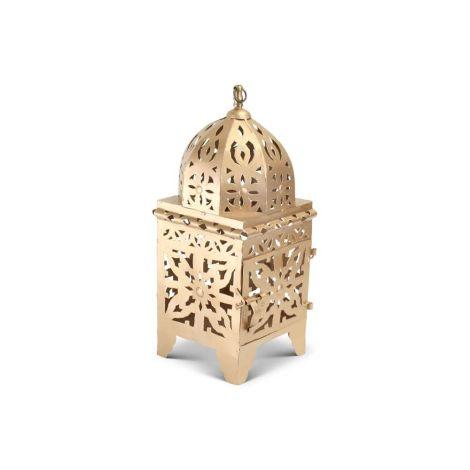 Marokkaanse Lantaarn Goud Medium Nimra