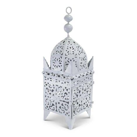 Marokkaanse Lantaarn Grijs Large Adira