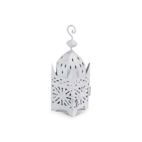 Marokkaanse Lantaarn Grijs Small Adira