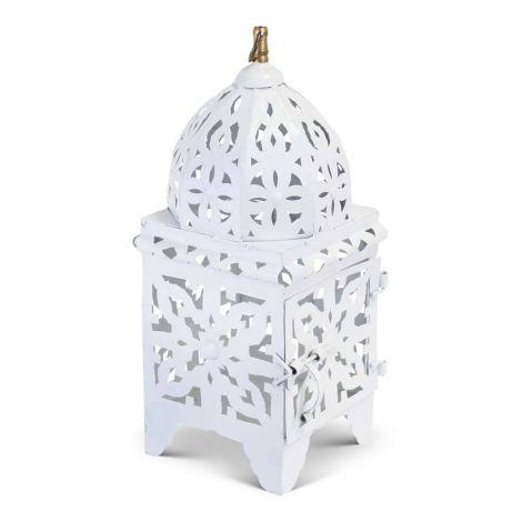 Marokkaanse Lantaarn Wit Small Nimra
