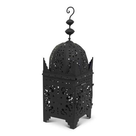 Marokkaanse Lantaarn Zwart Large Arub