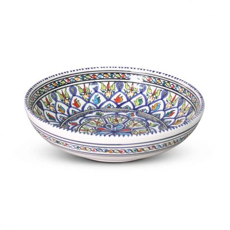 Marokkaanse Schaal Blauw Ø 27 x 7cm