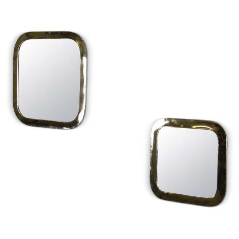 Marokkaanse Spiegel Rond Vierkant 2-delig