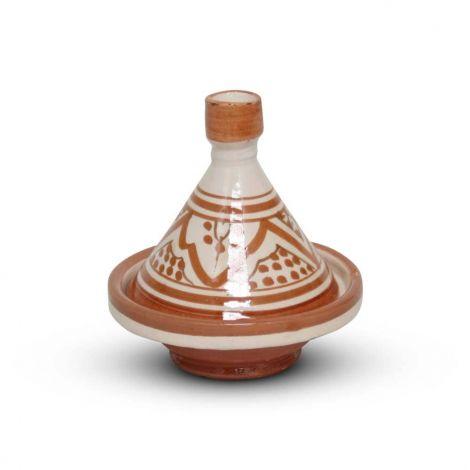 Marokkaanse Tajine mini Sahara Nakhil Ø 11 x 12cm