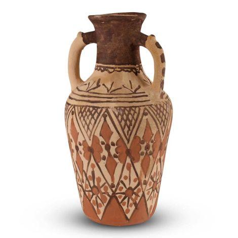 Marokkaanse Vaas Berber Bruin Ø 21 x 39.5cm