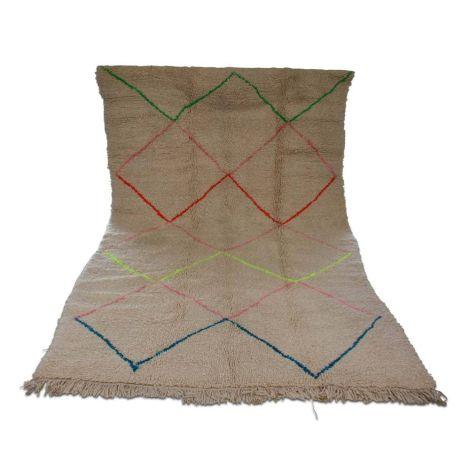 Marokkaanse Vloerkleed Beni Ouarain 255 x 158cm