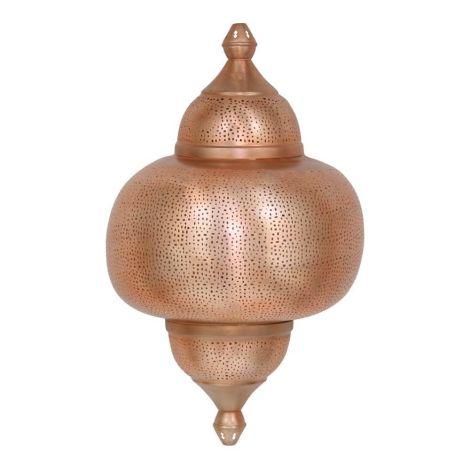 Oosterse Wandlamp Koper Zayn 42 x 22 x 66cm