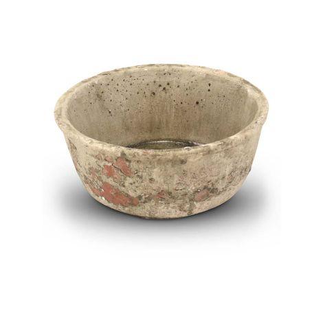 Pot Antiek Greywash Ø 6.5 cm