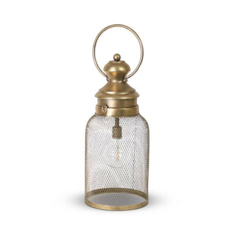 Tafellamp Colon LED Goud Ø 18 x 43cm