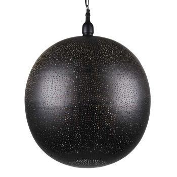 Arabische Hanglamp Amaira Zwart Goud Ø 50 x 62cm