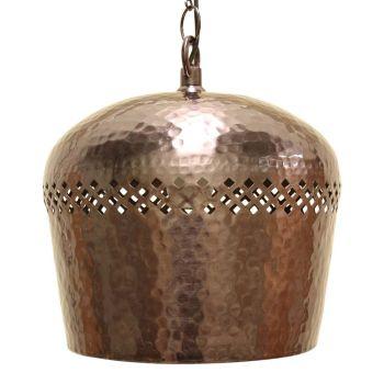 Hanglamp Zilver Ro-Mina Ø 22 x 63cm