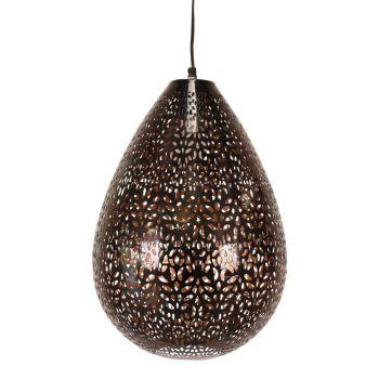 Hanglamp Posita Zwart Ø 33 x 44cm