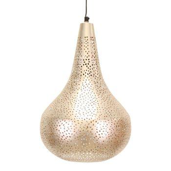 Hanglamp Antiek Bruin Cutout Ø 38 x 40cm