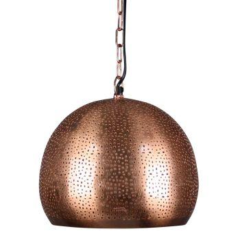 Marokkaanse Hanglamp Dilara Koper Ø 27 x 26cm