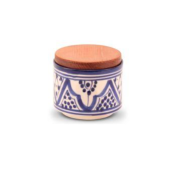 Marokkaanse kruidenpot Blauw Nakhil