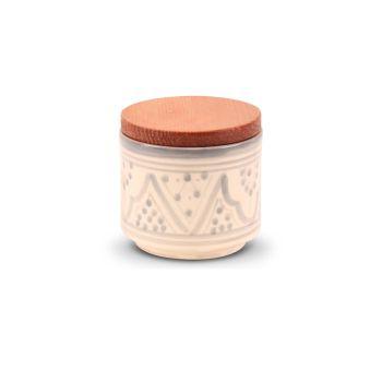 Marokkaanse  kruidenpot Grijs Nakhil