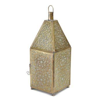 Marokkaanse Lantaarn Goud van Koper Large