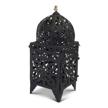 Marokkaanse Lantaarn Zwart Large Nimra