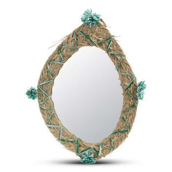 Marokkaanse Rieten Spiegel 48 x 36