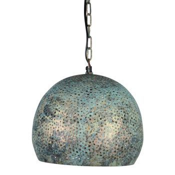 Oosterse hanglamp Manar Green Patina Ø 27 x 26cm