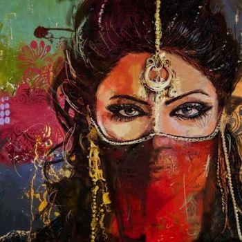 Oosterse Schilderij Shanti
