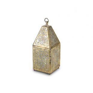 Marokkaanse Lantaarn Goud van Koper Small