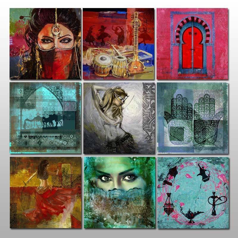 Arabische Schilderijen en Oosters Schilderij